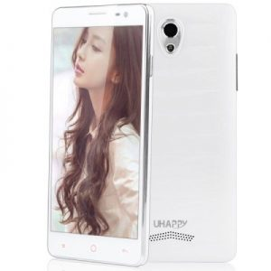 UHAPPY UP520 Android 4.4 3G Phablet with 5.0 inch QHD Screen MTK6582 1.3GHz Quad Core 8GB ROM GPS Dual Cameras