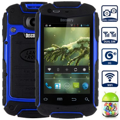 V5+ Android 4.2 3G Smartphone with 3.5 inch HVGA Screen MTK6572 1.0GHz Dual Core 2GB ROM GPS Dual Cameras