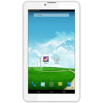 M727 Android 4.4 3G Phone Tablet PC with 7 inch WSVGA Screen SC7731 Cortex A7 Quad Core 1.3GHz Dual Cameras WiFi 8GB ROM GPS Bluetooth