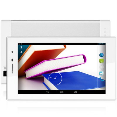 D703 Android 4.2 3G Phablet MTK8312 Dual Core 1.3GHz with 7 inch WSVGA Screen GPS WiFi Dual Cameras 4GB ROM