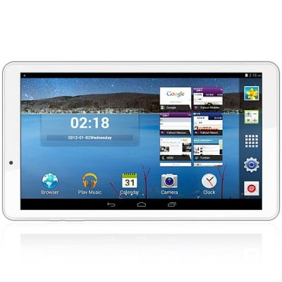 Ampe A101 10.1 inch Android 4.4 Tablet PC with WSVGA Screen MTK8127 Quad Core 1.3GHz Cameras WiFi 512MB RAM 8GB ROM