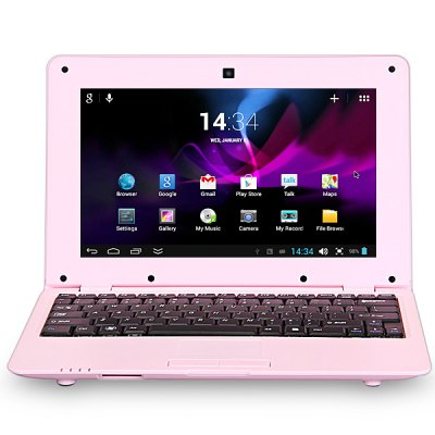 Android 4.2 1088 Netbook WM8880 Dual Core 1.5GHz 8GB ROM WIFI Camera with 10.1 inch WSVGA Screen
