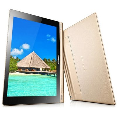 10.1 inch Lenovo Yoga B8000 Android 4.2 Tablet PC with WXGA IPS Screen MTK8389 Cortex A7 Quad Core 1.2GHz Dual Cameras WiFi GPS Bluetooth Function Sup