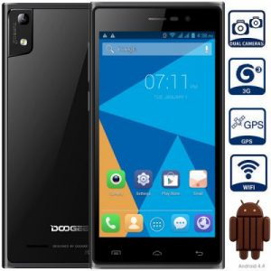 DOOGEE TURBO2 DG900 Android 4.4 3G Phablet with 5.0 inch FHD Screen MTK6592 1.7GHz Octa Core 2GB RAM 16GB ROM WiFi GPS Dual Cameras