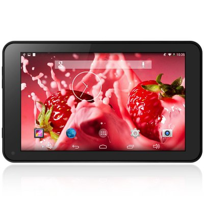 Soulycin S18 Android 4.4 Tablet PC with 7.0 inch WVGA Screen RK3188 Quad Core 1.4GHz 8GB ROM WiFi Camera