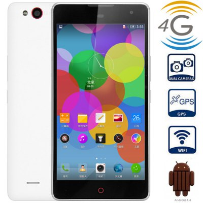Nubia Z7 MAX Android 4.4 4G Phablet with 5.5 inch FHD IPS Screen MSM8974 2.5GHz Quad Core 2GB RAM 32GB ROM WiFi GPS NFC Gesture Sensing Dual Cameras
