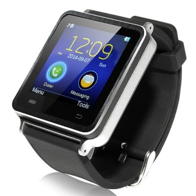 Iradish I7 Smart Bluetooth Watch Passometer Touch Screen Answer and Dial the Phone
