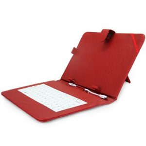 PU Leather and Protective Case with Stand Function Keyboard Specially for 10.0 inch Tablet PC