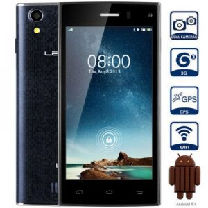 LEAGOO Lead 3 Android 4.4 3G Smartphone with 4.5 inch QHD Screen MTK6582 1.3GHz Quad Core 4GB ROM GPS Dual Cameras