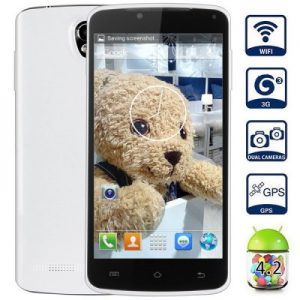 P8 Android 4.2 3G Phablet with 5.0 inch WVGA Screen MTK6572 1.3GHz Dual Core 4GB ROM WiFi GPS Gesture Sensing Dual Cameras