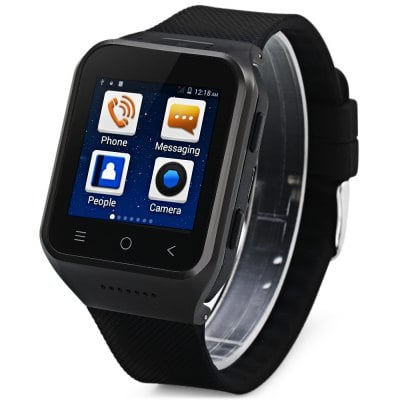 ZGPAX S8 3G Android 4.4 with 1.54 inch Touch Screen Smart Watch Phone MTK6572 Dual Core 1.0GHz MP3 WiFi Bluetooth GPS