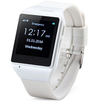 ZGPAX S18 1.54 inch Touch Screen Smart Watch Phone with Single SIM MP3 Bluetooth
