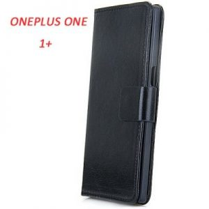 Leather + Plastic Fashion Flip Protective Wallet Case Cover for ONEPLUS ONE