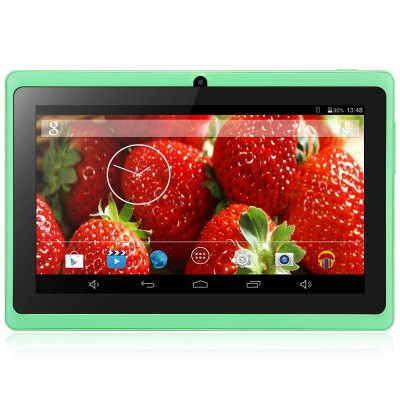AOSD Q88D G Android 4.4 Tablet PC with 7 inch WVGA Screen A23 Dual Core 1.5GHz Dual Cameras WiFi 4GB ROM