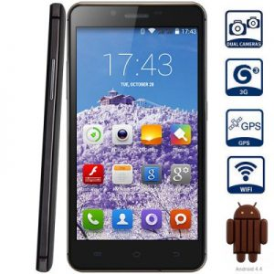 WALSUN X1 5.0 inch Android 4.4 MTK6582 1.3GHz 3G Phablet