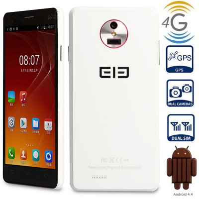 Elephone P3000 5.0 inch Android 4.4 4G Phablet Quad Core 1.3GHz
