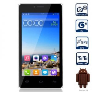 CUBOT S208 Android 4.4 3G Smartphone with 5.0 inch QHD IPS OGS Screen MTK6582 Quad Core 1.3GHz 1GB RAM GPS Dual Cameras