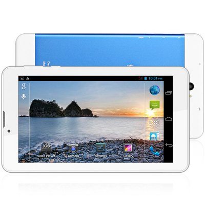 S76 3G Phablet Android 4.2 7 inch WSVGA Screen MTK6572 Dual Core 1.2GHz