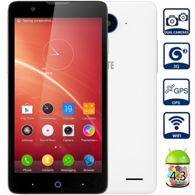ZTE V5 5.0 inch Android 4.3 3G Smartphone