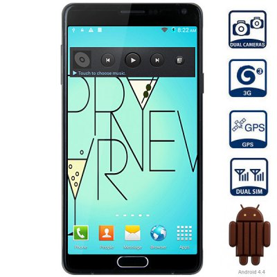 5.7 inch Mpie i9199s Android 4.4 3G Phablet