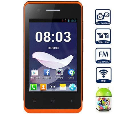 Donde comprar T1 Quad Band Android 4.2 Unlocked Smart Phone