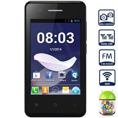 Comparar opciones de compra para T1 Quad Band Android 4.2 Unlocked Smart Phone