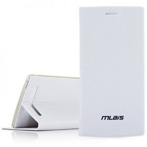 Folding Stand Style PU Protective Case for Mlais M9 Smartphone