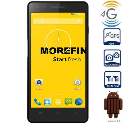 5.0 inch MoreFine A1 Android 4.4 4G Smartphone