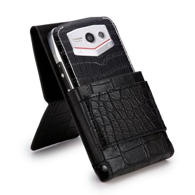 Folding Stand Style PU Protective Case for DOOGEE DG700 Smartphone