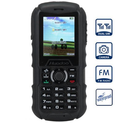 Donde comprar Huadoo H1 Quad Band IP68 Unlocked Phone