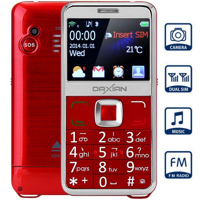 Daxian GST 6000 Dual Band Elder People Mobile Phone