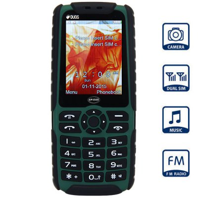 XP3500 Quad Band Unlocked Phone