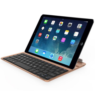 IBK 07 Ultrathin Bluetooth Keyboard Aluminum Cover for iPad Air