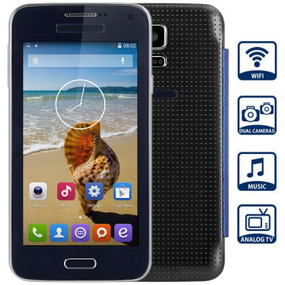 G900W Unlocked Phone Touch Screen WiFi MP3 TV Buletooth Dual Cameras