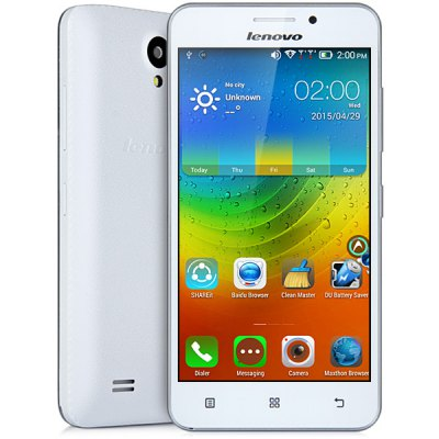 Lenovo A3600D 4.5 inch Android 4.4 3G Smartphone MTK6582 1.3GHz Quad Core 4GB ROM Dual Cameras