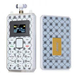 AEKU K8 Mini Unlocked Phone Ultra Thin Lightest Weight Bluetooth