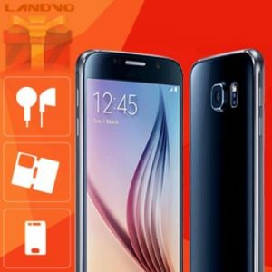 LANDVO S6 Gift Pack Contain Earphone Leather Case Toughened Protection Film
