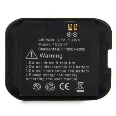 ZGPAX S29-S28 Watch Phone 3.7V 450mAh Battery