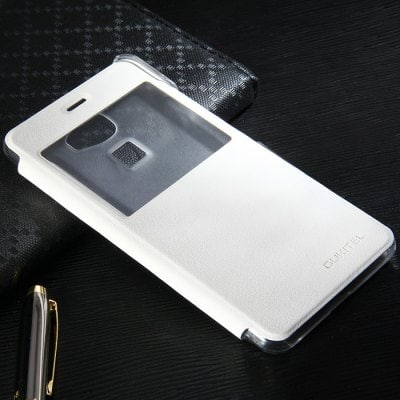 View Window Leather Protective Case Fitting for OUKITEL U8