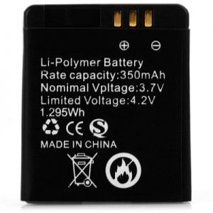 Aiwatch GT08+ Smartwatch Phone Spare Part Battery 3.7V 350mAh