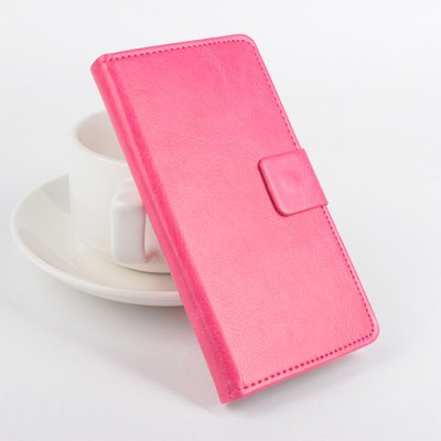 Delicate Pattern Design Leather Material Protective Cover Case Fitting for DOOGEE Y100X