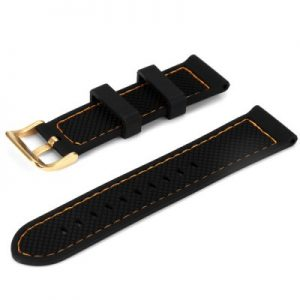 21mm Watch Strap Silicone Pin Bukcle for X6 Smartwatch