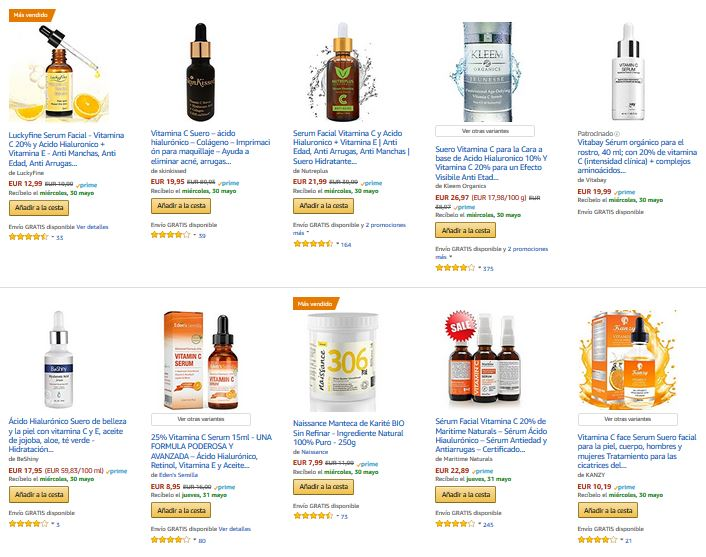 beneficios para la piel de la vitamina e cosmetica belleza