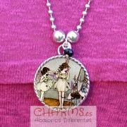 collar bailarinas vintage