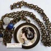 Collar Vintage Bronce Mod. 3400027