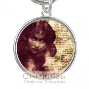 Medalla para pulsera estilo vintage Mod 040001002