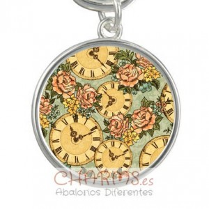 Medalla para pulsera estilo vintage Mod 040001003