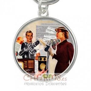 Medalla para pulsera estilo vintage Mod 040001007