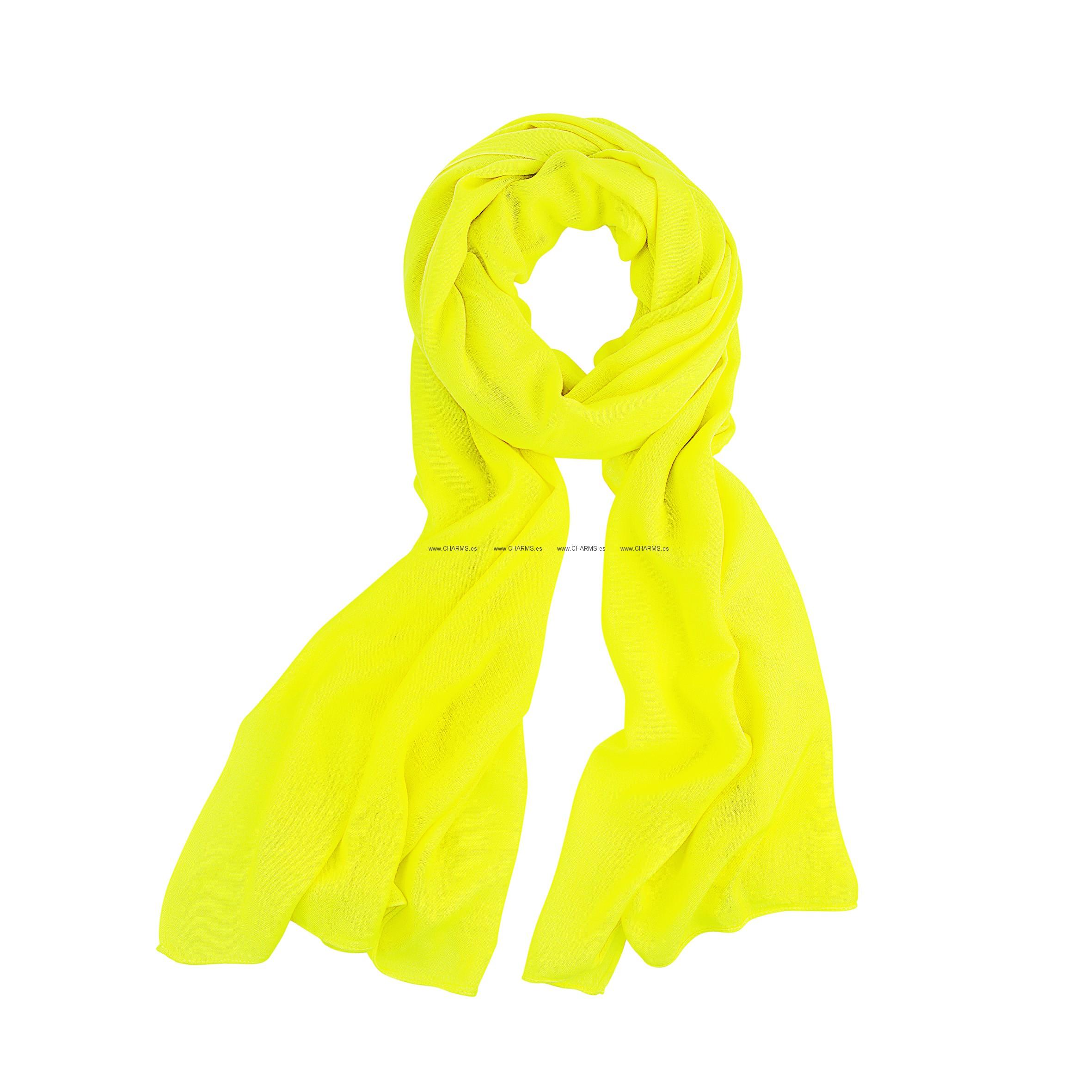 Amarilla bufanda Folli Follie