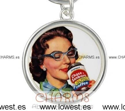 Colgante para pulsera o collar mujer años 50